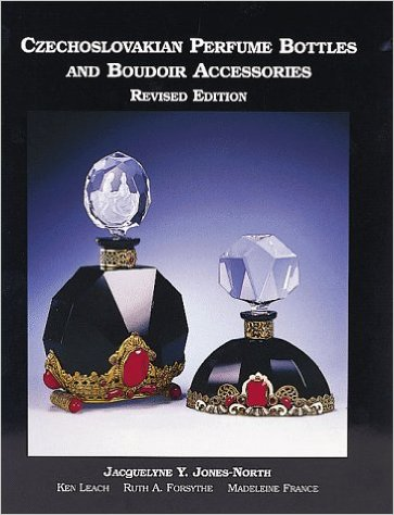 Czechoslovakian Perfume Bottles and Boudoir Accessories