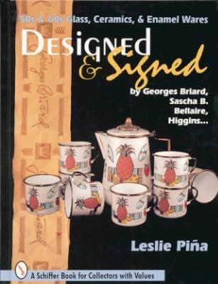 Fifties and Sixties Glass, Ceramics and Enamel Wares: Designed and Signed
