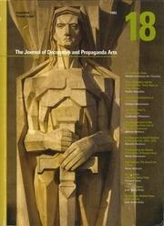 Journal of Decorative and Propaganda Arts 18 – Argentine Theme Issue