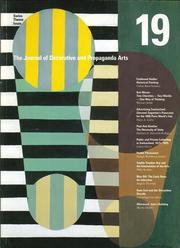 Journal of Decorative and Propaganda Arts 19 – Swiss Theme Issue